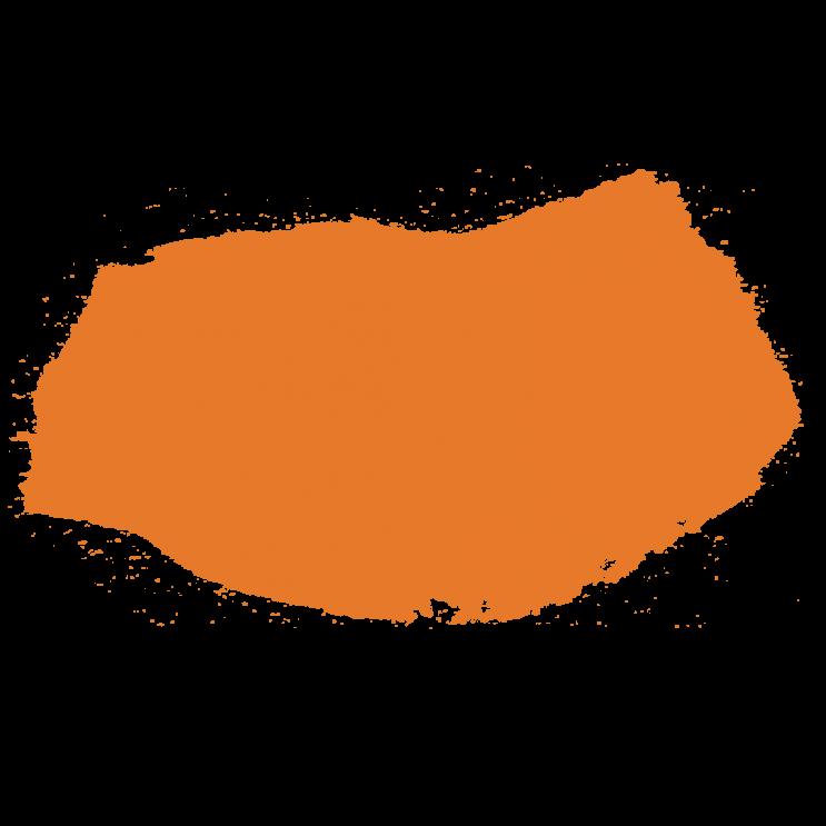 Cor laranja página de eventos