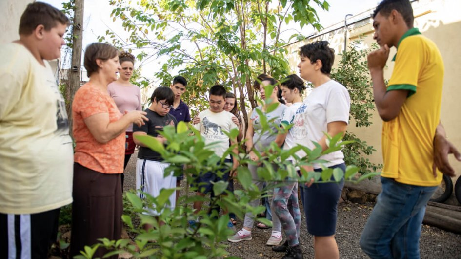 Jardinagem – oficina terapêutica